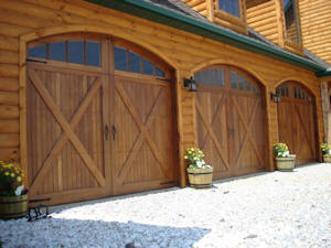 Wood Garage Door Installation